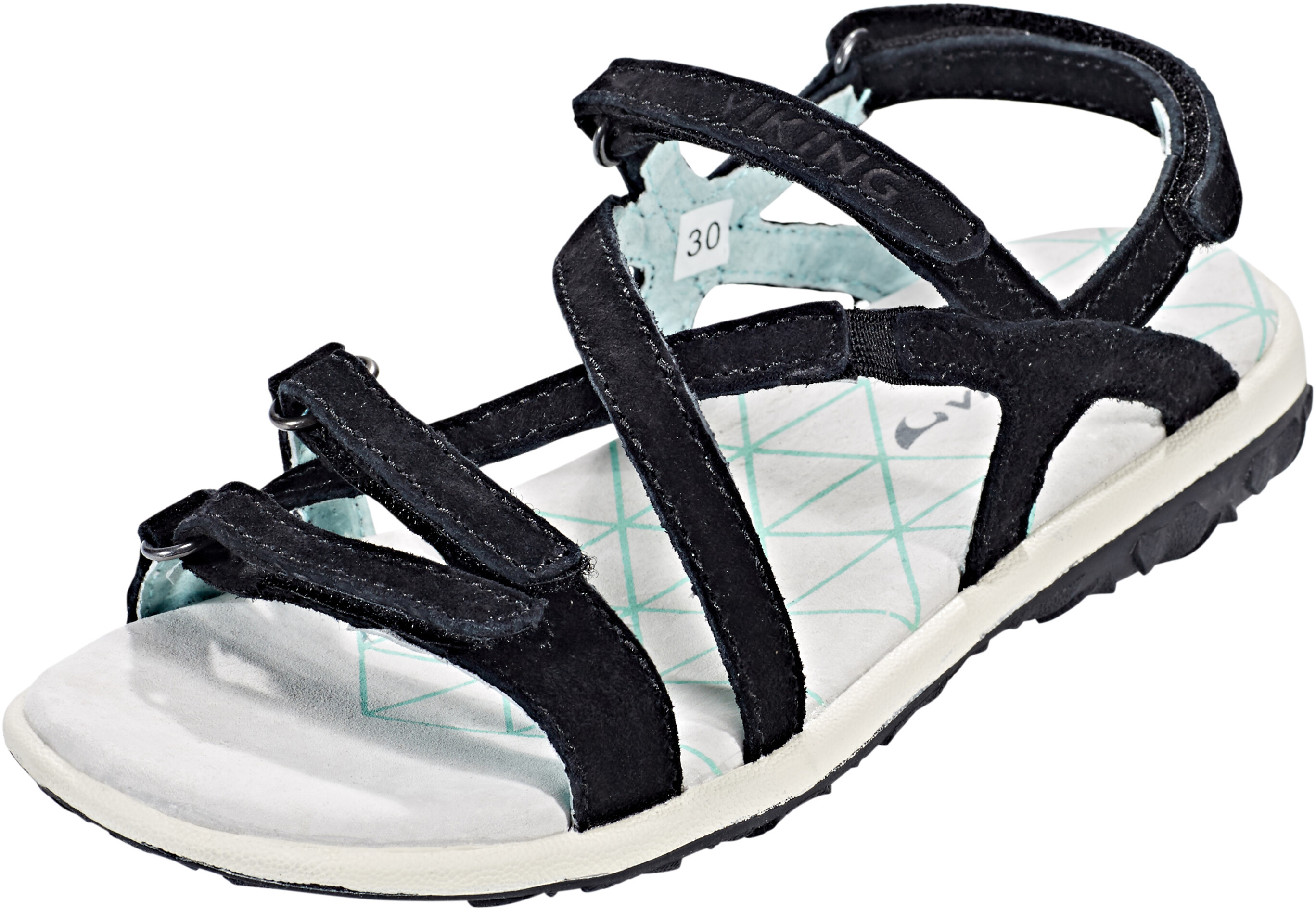 fca95e5915aa51 Viking Footwear Svala Sandals Children black at Addnature.co.uk